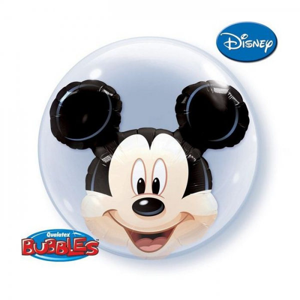 3d Mickey bubble double 61 cm