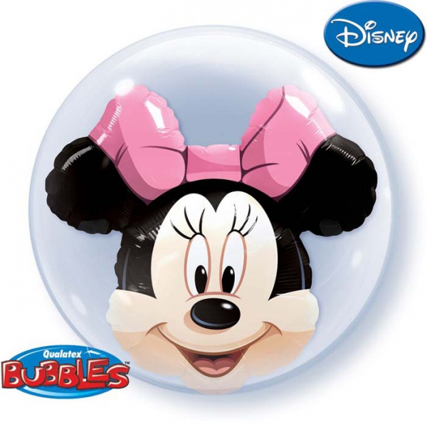 3d Minnie bubble double 61 cm