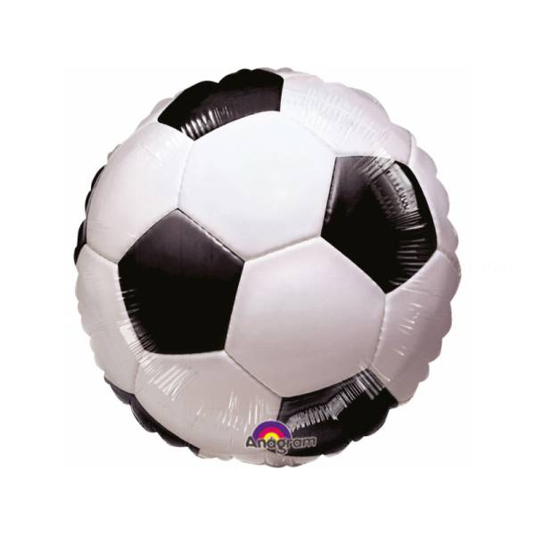 Foot ballon mylar 45 cm