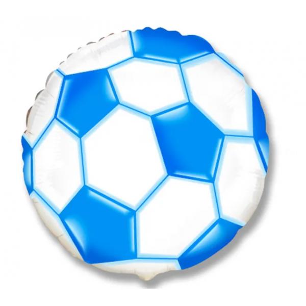 Foot bleu ballon mylar 50 cm