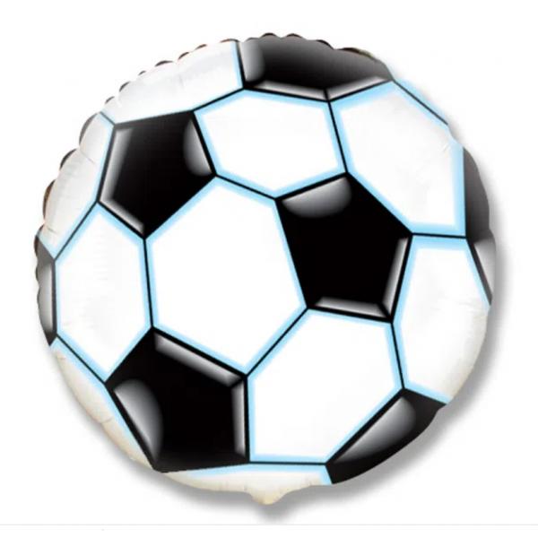 Foot noir ballon mylar 50 cm