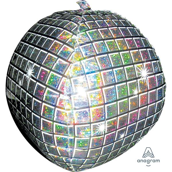 boule à facette holographic ballon 38*38cm