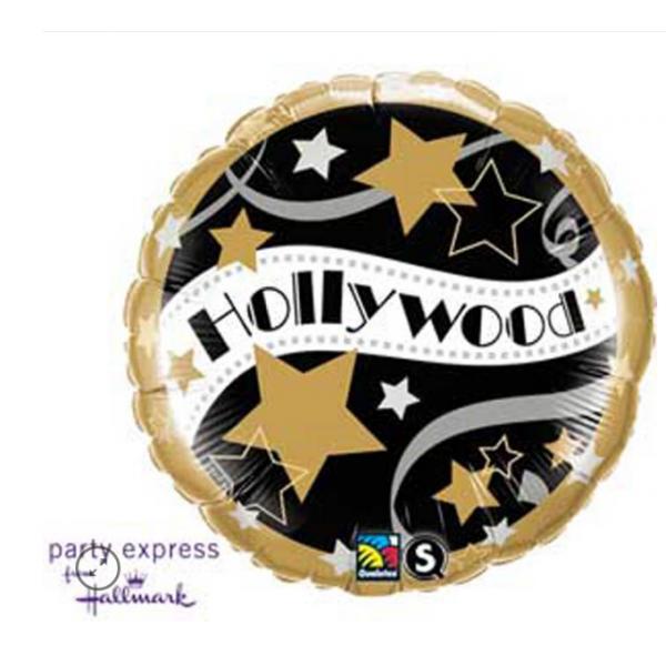 holliwood star mylar rond 45 cm