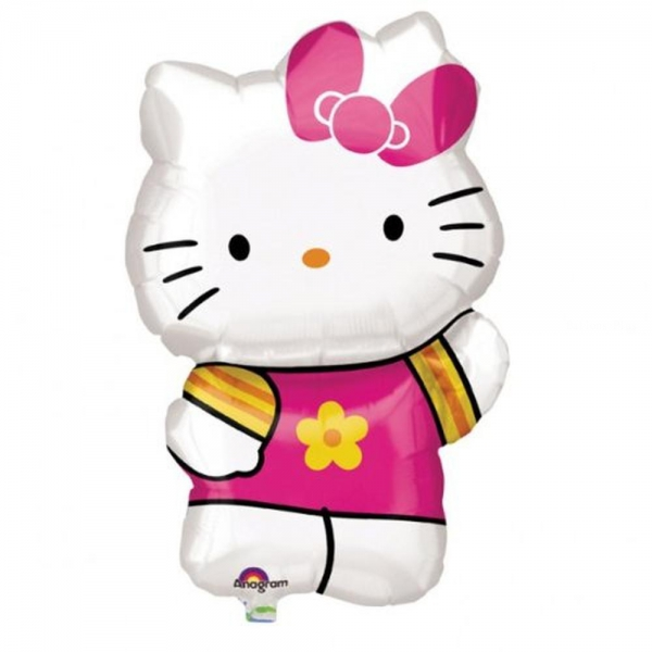 Hello kitty ballon mylar 41*63 cm