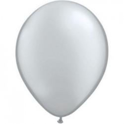 qualatex 12.5cm couleurs perlées argent