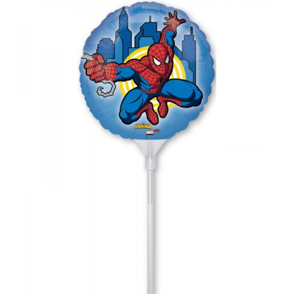 3 ballons Spidermann 23cm