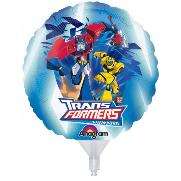 3 ballons Transformers 23cm
