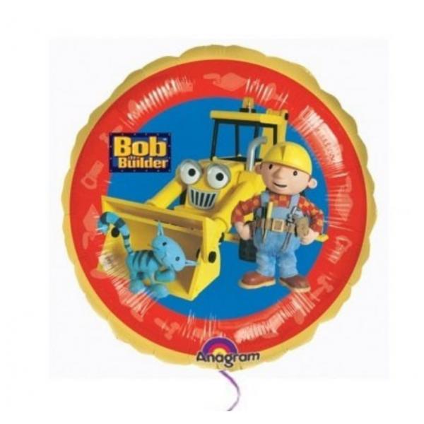 Bob le bricoleur ballon mylar 45cm