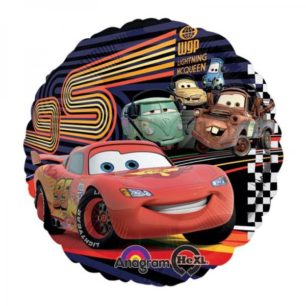 Car's ballon mylar 45 cm à plat