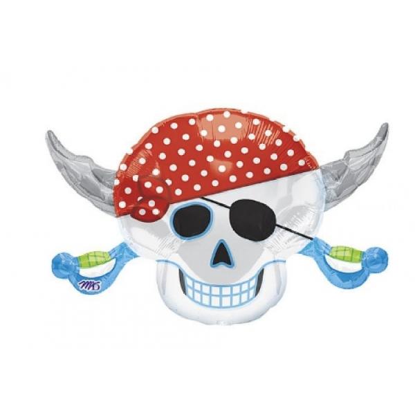 pirate ballon mylar 45 *71cm non gonflé