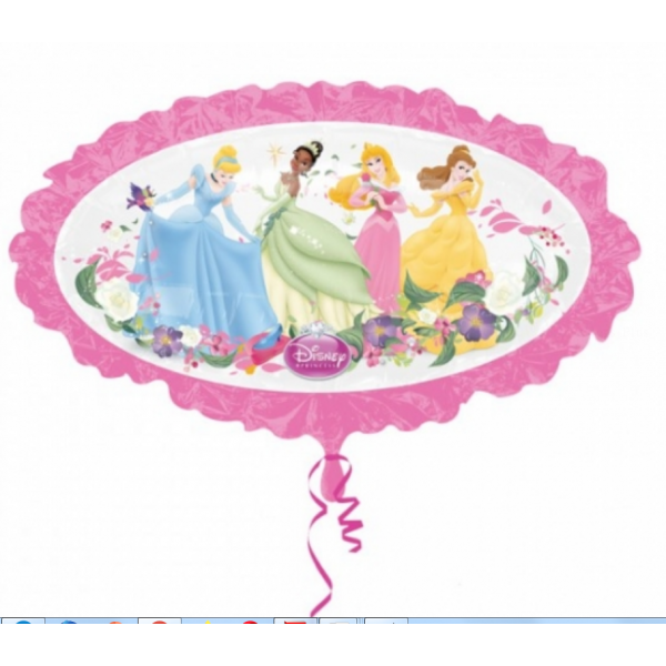 les princesses Disney ballon métal 78 cm