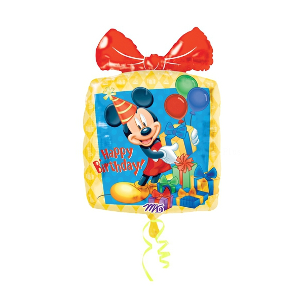 paquet cadeaux happy birthday mickey 46cm*64 cm