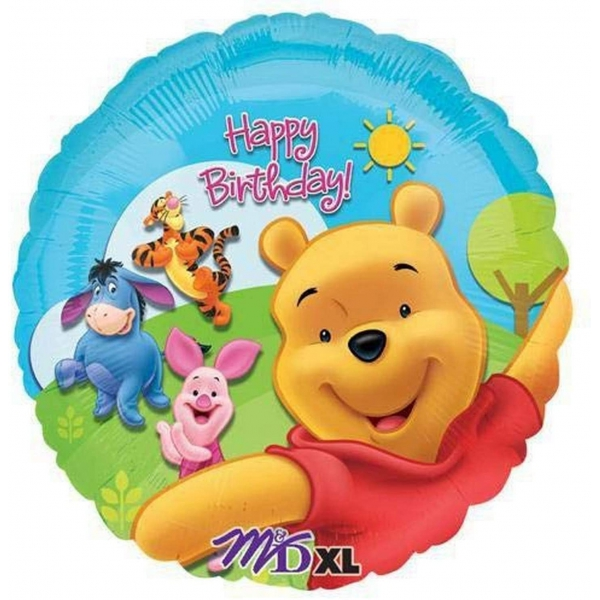 winnie et amis happy birthday