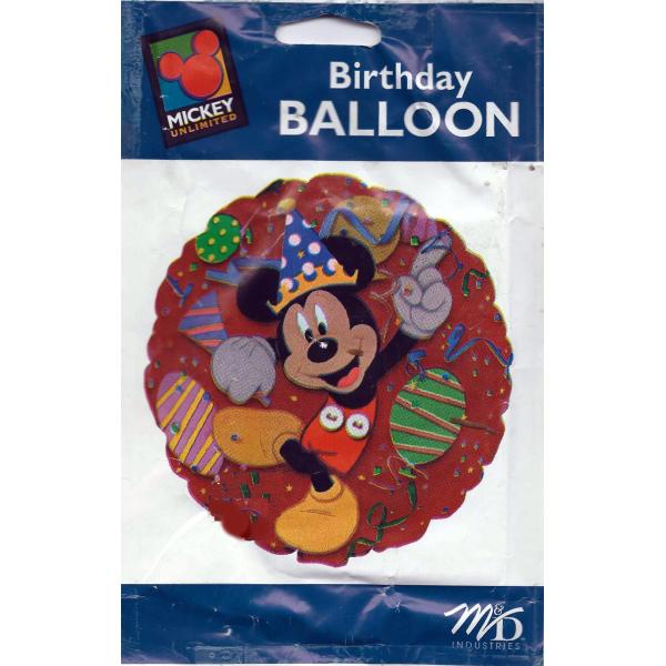 Mickey fiesta ballon mylar rond