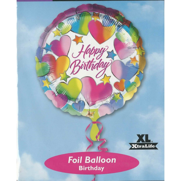 Happy birthday Ballon métal 45 cm