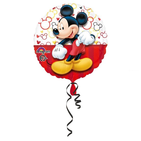 Mickey ballon métal 45 cm