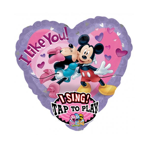 Minnie to Mickey i like you 71 cm