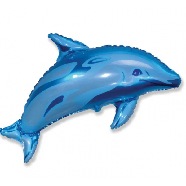 Dauphin bleu forme 56*95cm