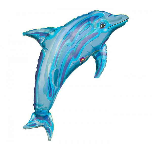 Dauphin bleu forme 56*94cm