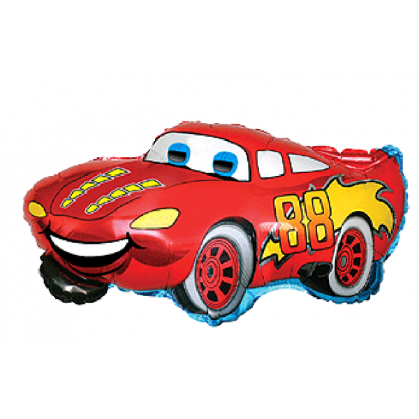 Racing auto 88 en mylar 52 *82cm