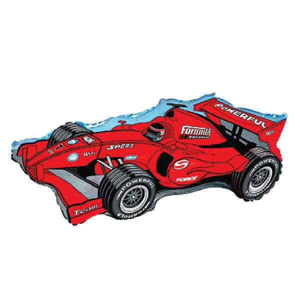 Formule 1 rouge forme 70 cm