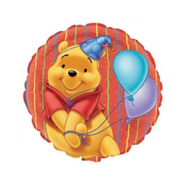 Winnie portrait ballon mylar 45 cm