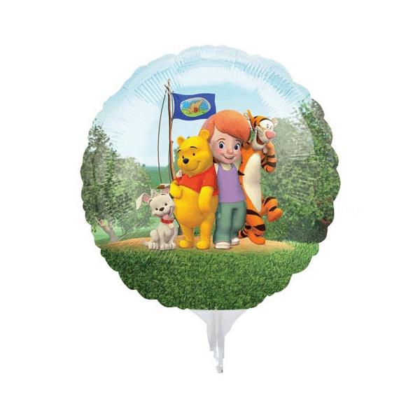 3 Winnie mini mylar vendu non gonflé pour air sur tige
