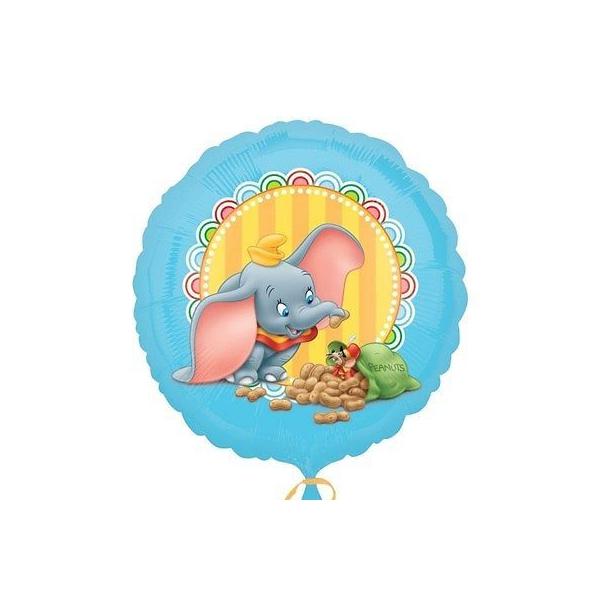 Dumbo ballon mylar rond 45 cm