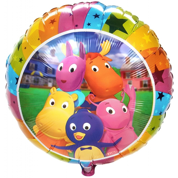 les Mélodilous ballon mylar rond 45 cm