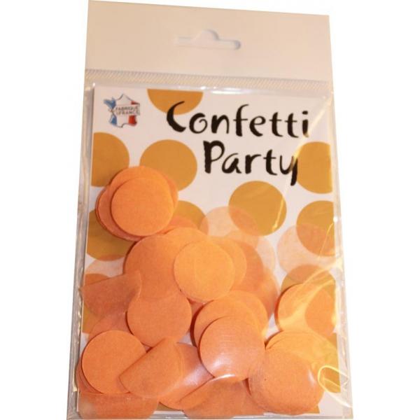 Confettis ronds pêche 15 grs 25mmØ