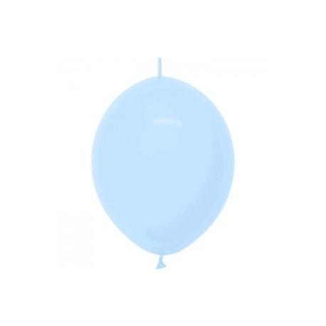 Link o loon 30 cm opaque pastel bleu 140 SEMPERTEX Double Attaches 30Cm Opaques Vifs Et Pastels