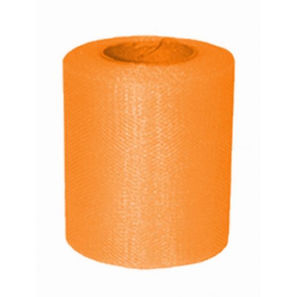 tulle mandarine 8cm*20m