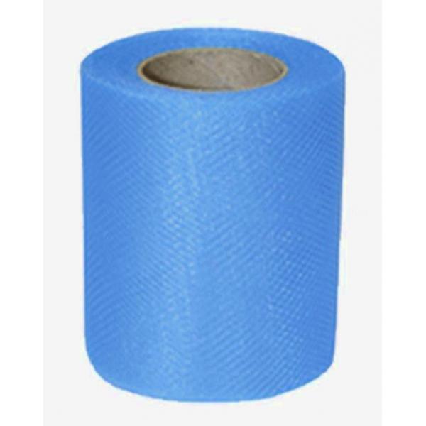 tulle turquoise uni 8cm*20m