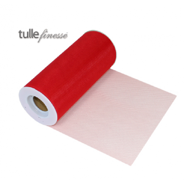 tulle rouge 15cm*22.75m
