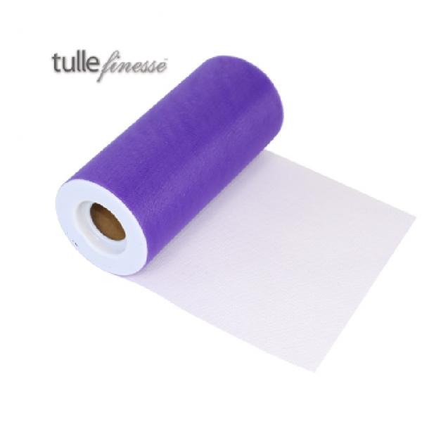 tulle violet 15cm*22.75m