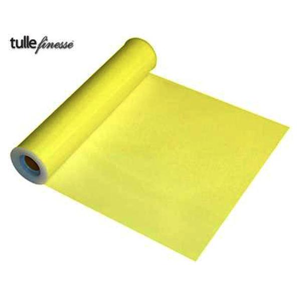 tulle jaune 30cm* 23m
