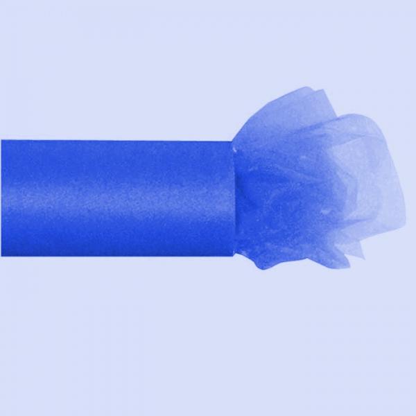 tulle bleu royal 30cm * 23m