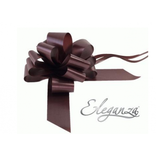 20 noeuds chocolat 50mm