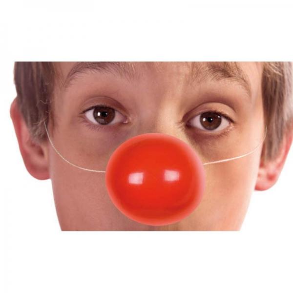 6 nez clown avec elastique