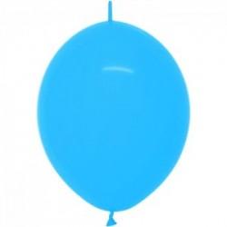 Link o loon 30 cm opaque bleu 040 SEMPERTEX Double Attaches 30Cm Opaques Vifs Et Pastels