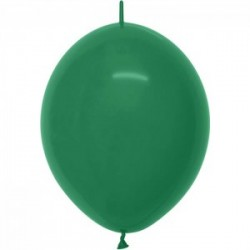 DOUBLE ATTACHES 30 cm couleur opaque vert foret 032