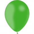 100 ballons vert printemps opaque 14 cm