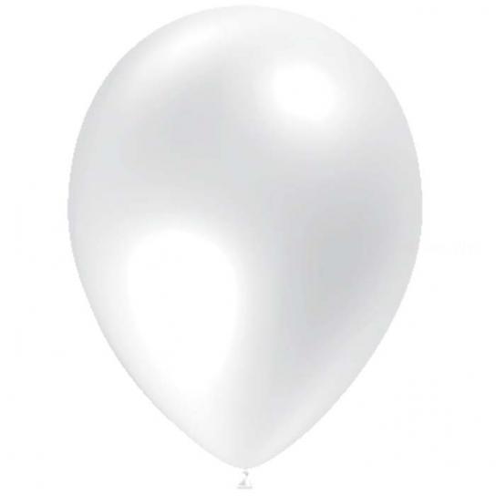 10 ballons transparent 30 cm