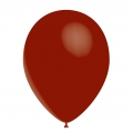 10 ballons bordeaux transparent 30 cm