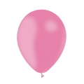10 ballons rose opaque 30 cm