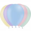 10 ballons pastel mate opaque 30 cm