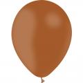 25 ballons marron opaque 14 cm
