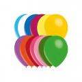 25 ballons assortis opaque 14 cm