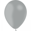 100 ballons gris opaque 14 cm