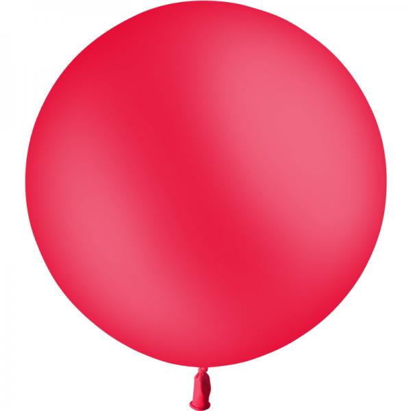 1 ballon 60 cm rouge